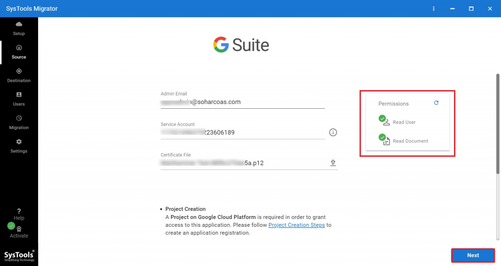 G Suite as a Source