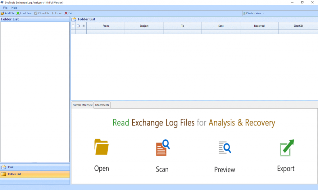 Download Exchange Log Analyzer