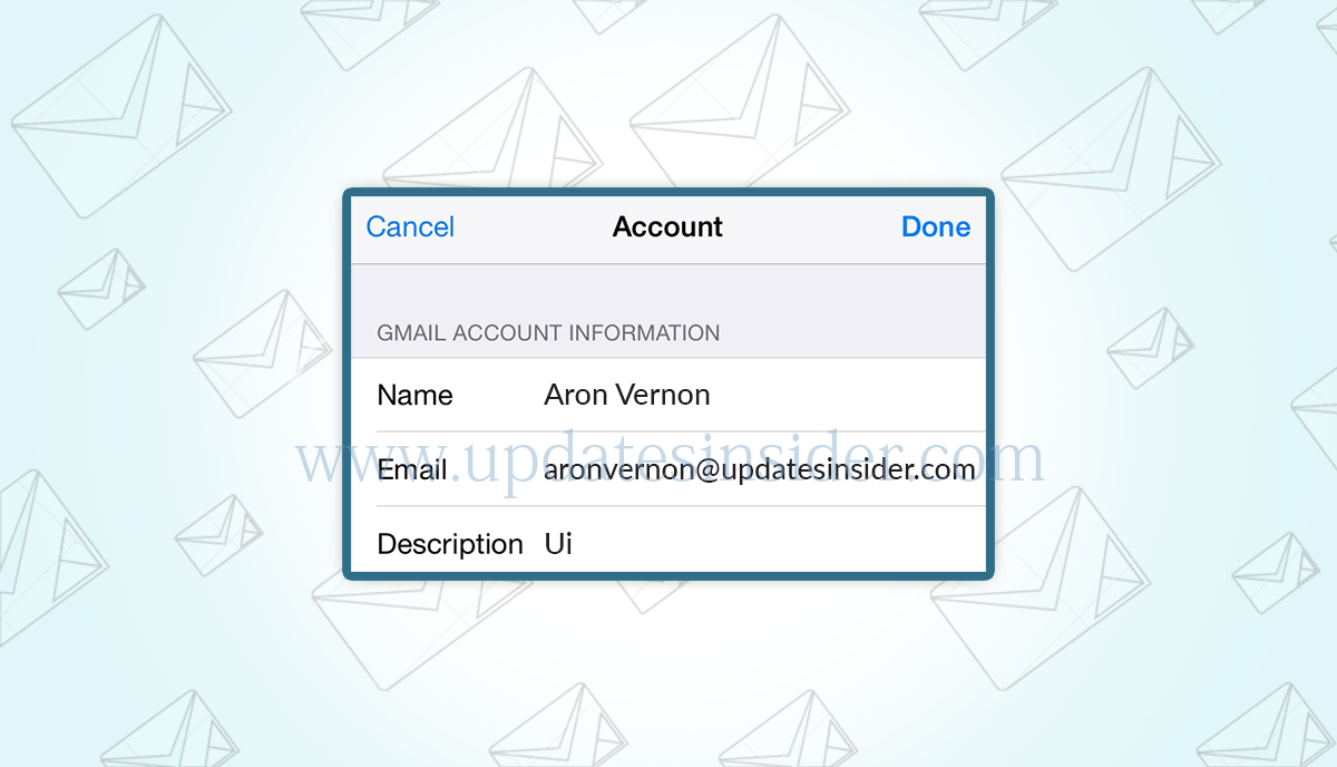 how-to-change-email-name-on-iphone